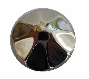 Large Pointed High Knop button