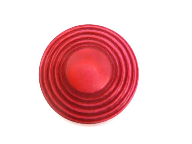 Cerise Pink Large UFO-shape button (00840)