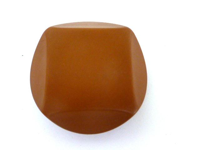 Burnt Umber Brown Chunky-cut Style (no.00836)