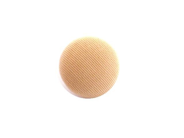 Light Angel Skin Coral Fabric Small button (no.00740)