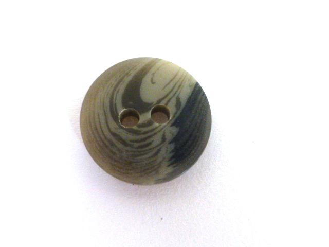 Grey Brown Marbled Sleeve button (no.00580)