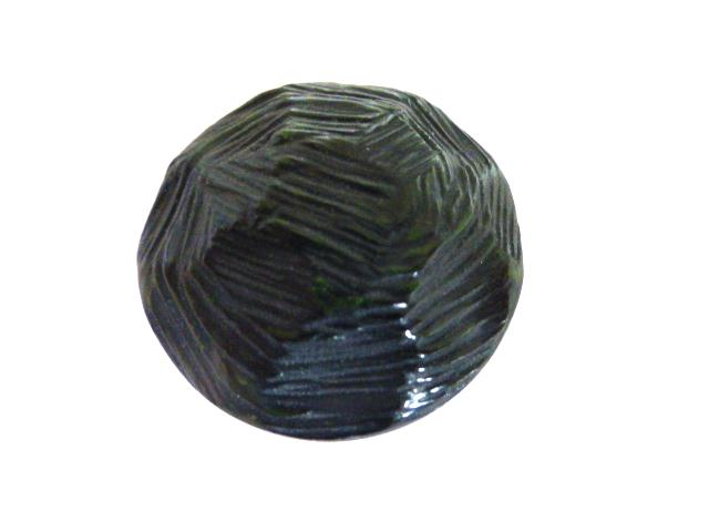 Dark Green Chiselled Dome (No. 00697)