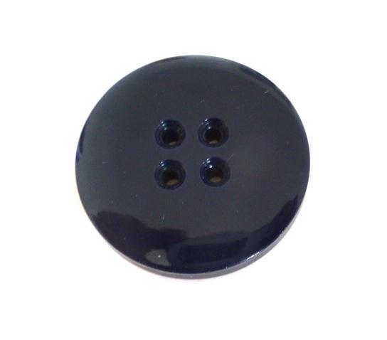 Chunky Navy Blue 4-Hole button ( no 00692)