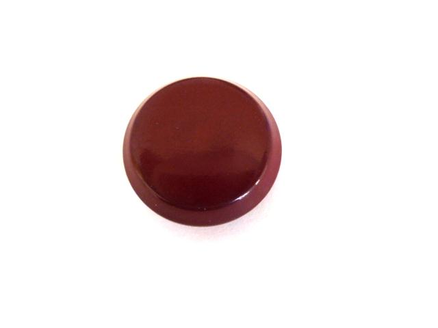 Burgundy Red Waistcoat button (no. 00860)