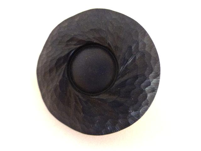 Dark Navy Relief Large Dome button (00876)