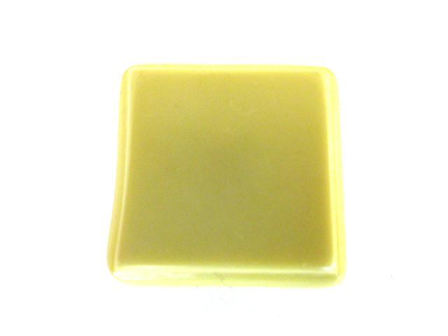 Celadon Green Raised Square button ( no.00879)