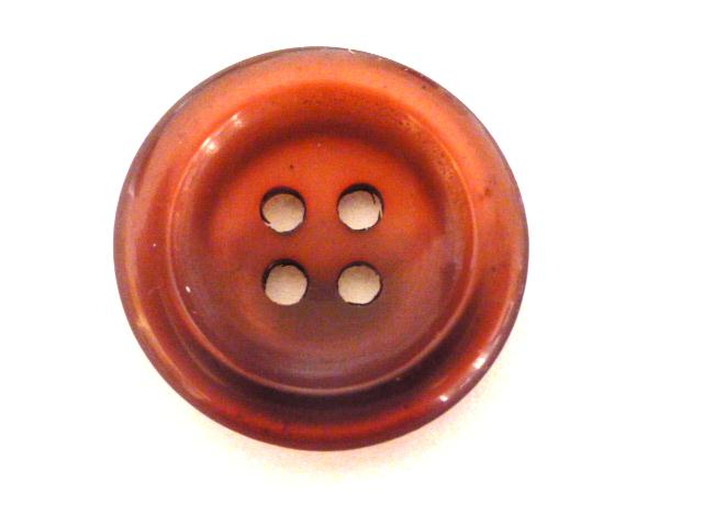 Claret Nylon Glow button (no.00894)