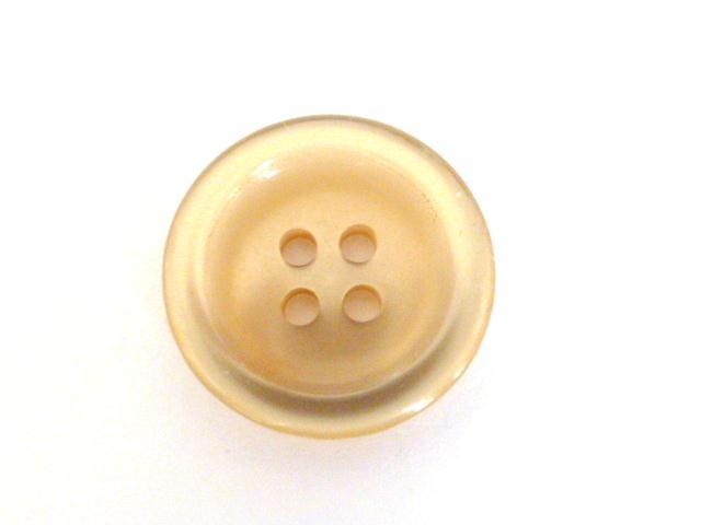 Light Gold Nylon Glow button (no.00895)