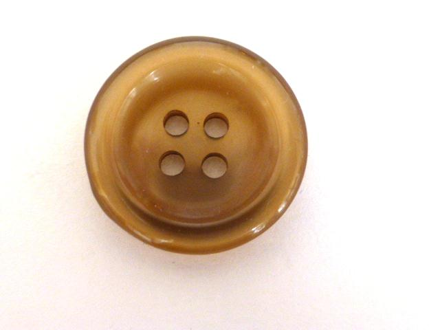 Dark Gold Nylon Glow 4 Hole button (no.00903)