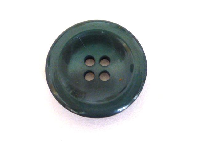 Dark Green Nylon Glow 4 Hole button (no.00899)