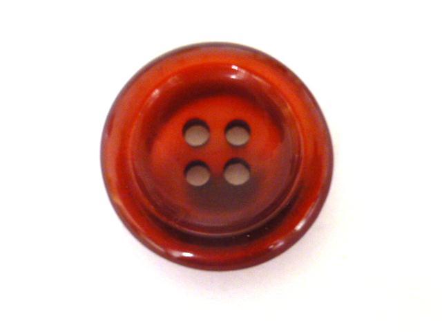 Cherry Nylon Glow 4 Hole button (no. 00902)