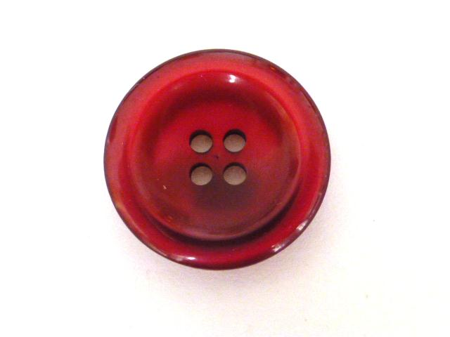Cerise Nylon Glow button (no. 00901)