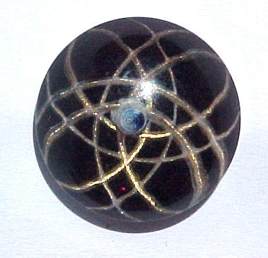 Sputnik Lucite Dome button