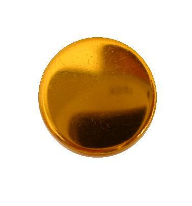 Plain Brass 'Stay Bright' Blazer button (no.00769)