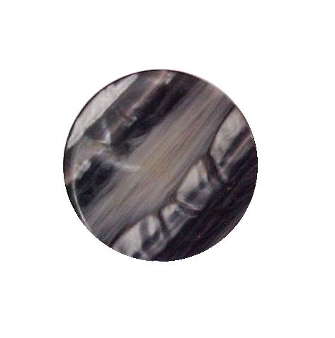 Grey Mother-of-Pearl Stripe button (No.00510)