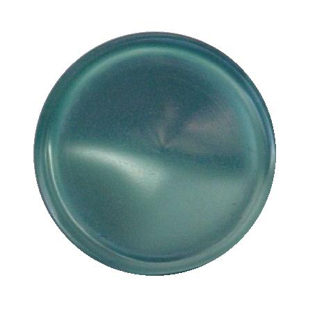 Turquoise Nylon Glow button (No. 00209)