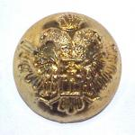 Double-headed Eagle button (No.00207)