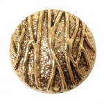 Gold Bark Large button (no.00353)