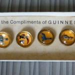Boxed Set of Guinness Waistcoat buttons