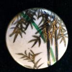 Bamboo Satsuma Ceramic button