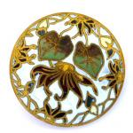 Cloisonne Enamel Large button