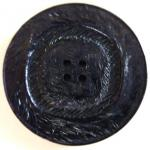 Large Midnight Blue Lustre button (no.00555)