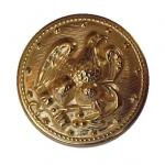 Set of Eagle Gilt Brass buttons