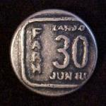 Farh 30 button (No.00099)