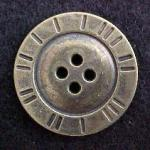 Brass 4-hole Button (No. 00104)