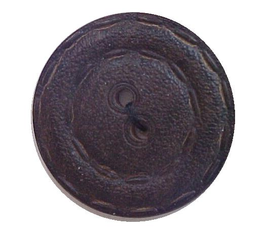 Dark Brown Wooden button
