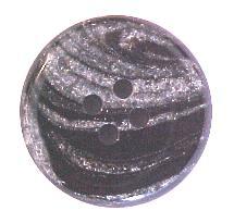 Black & White Marbled Button (00132)