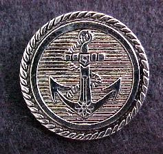 Anchor Silver button (No.00147)
