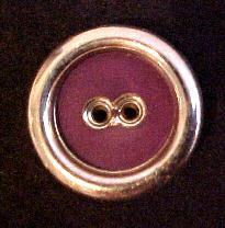 1960's Purple and Silver Button (No.00191)